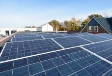 20 panelen 240 Wp Mono, 4800 KWp geplaatst op Systeem voor platte daken