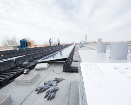 AaboSolar zonnestroomsysteem in Zandvoort