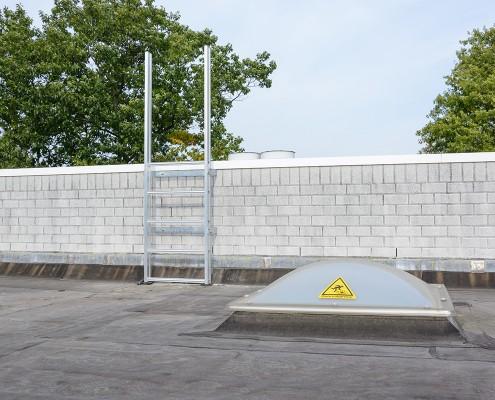 AaboSafe dakveiligheidsproducten bedrijfspand Dordrecht