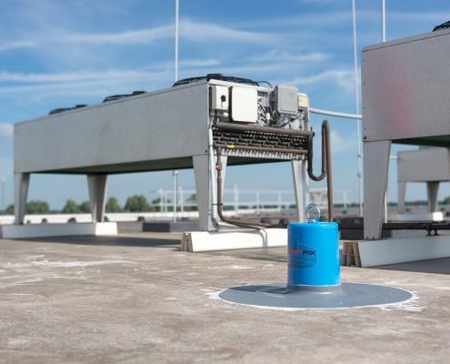 AaboSafe dakveiligheidsproducten. Twistfix ankerpunten voor werkzaamheden in het dakvlak