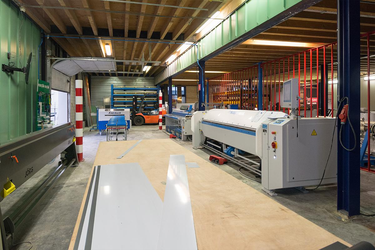 De zetterij van Aabo Trading Arnhem.