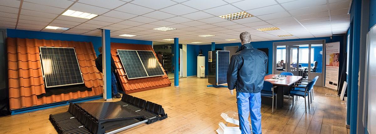 De showroom van Aabo Trading Beverwijk.