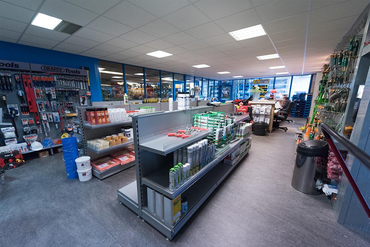De shop van Aabo Trading Beverwijk.