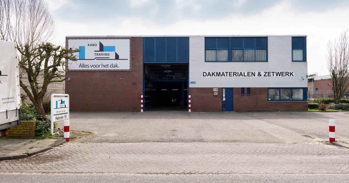 De vestiging van Aabo Trading Breda.