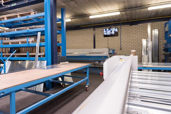 De zetterij van Aabo Trading Breda.