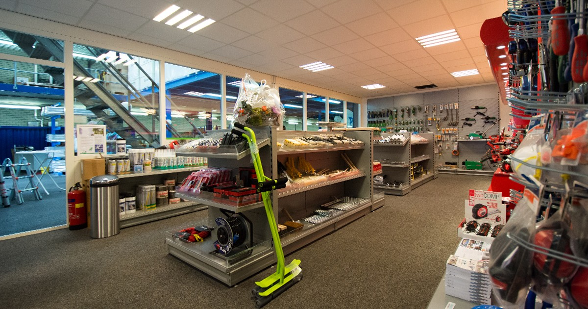 De shop van Aabo Trading Breda.