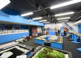 De showroom van Aabo Trading Cuijk