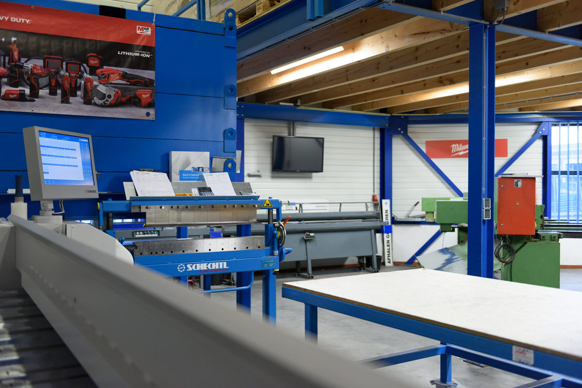 De zetterij van Aabo Trading Eindhoven.