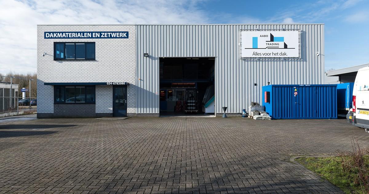 De vestiging van Aabo Trading Arnhem.