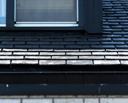 Asbestdak vervangen door Heritage Slate rubber dakleien - Grave
