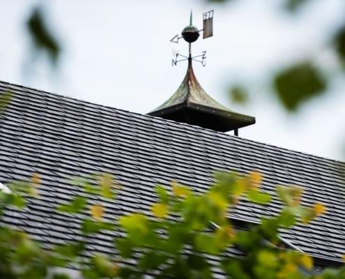 Renovatie shingledak met Heritage Slate rubber dakleien - Teteringen