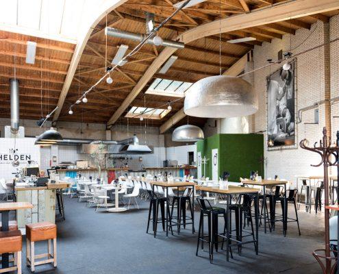 Infraroodverwarming restaurant Helden