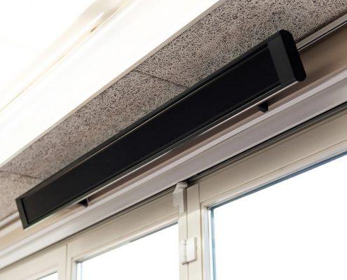 Infrarood heatstrips t.b.v. bijverwarming Restaria De Flip – Boxmeer