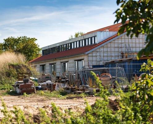Dakkapel van 35 meter lang voorzien van zinken felsbanen op maat - Woonwijk Westervoort