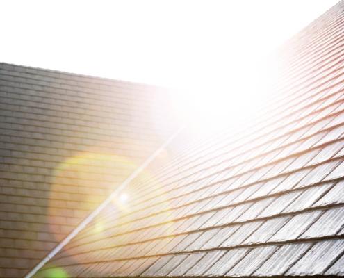 Heritage Slate duurzame rubber dakleien en zonnepanelen – Immanuelkerk Ermelo