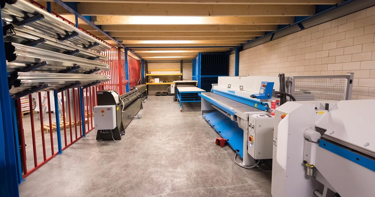 De zetterij van Aabo Trading Haarlem.