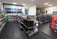 De shop van Aabo Trading Haarlem