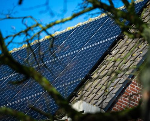 Zonnestroom met ruim 21.000WP vermogen - Kantoorpand Gennep
