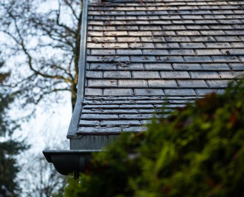 Landelijk woonhuis in bosrijke omgeving gerenoveerd met Heritage Slate rubber dakleien - Vierhouten