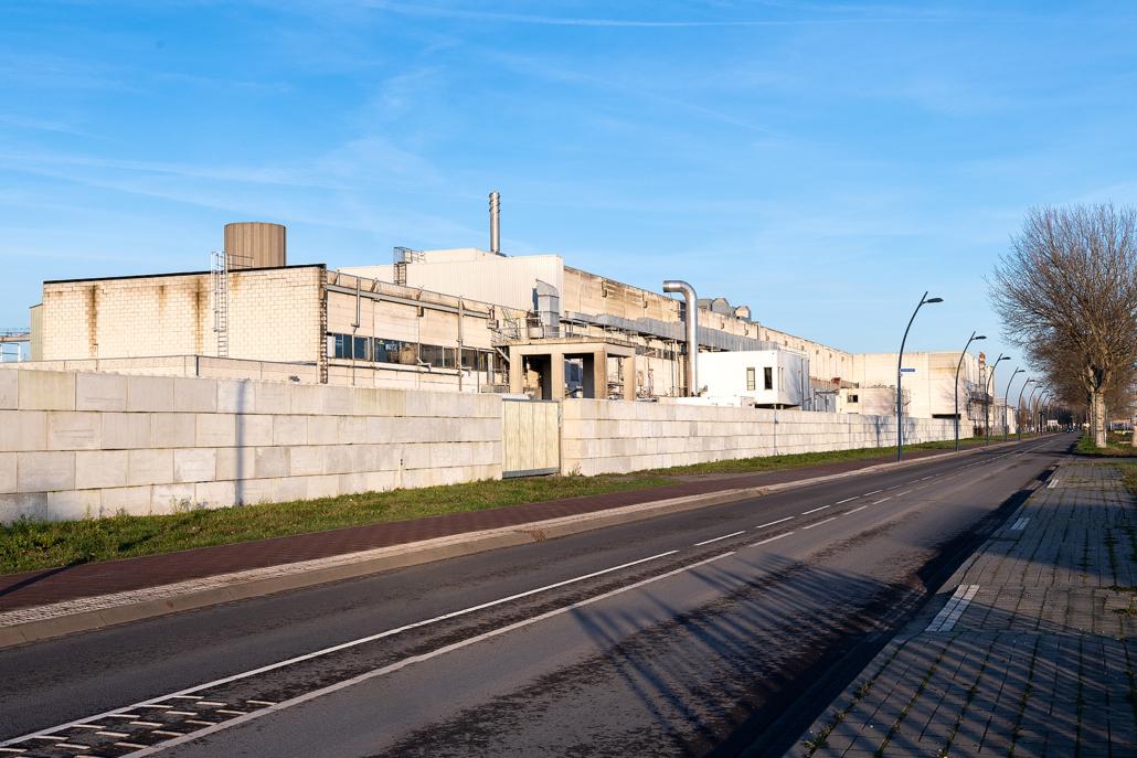 15.000m2 PVC dakbedekking - Voormalige papierfabriek te Nijmegen