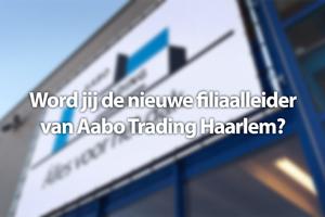 Filiaalleider Haarlem