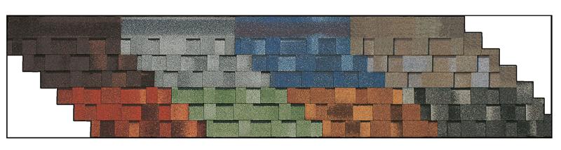 Tegola master kleuren