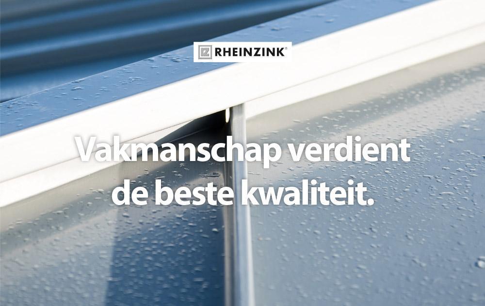 Rheinzink-nieuwsbericht