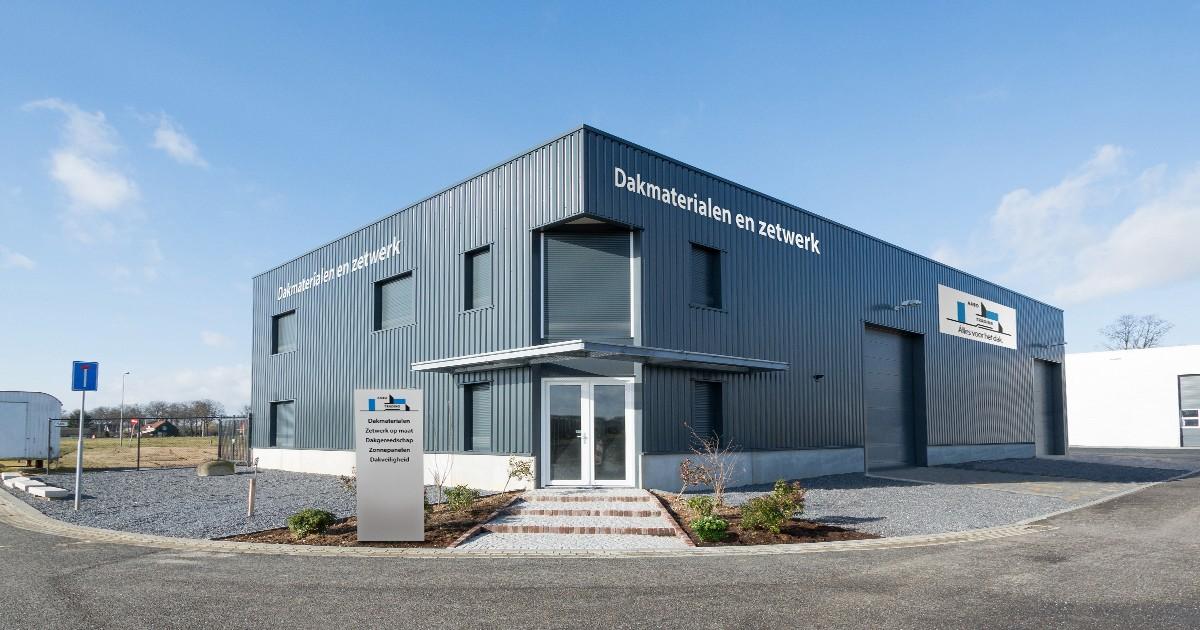 De vestiging van Aabo Trading Roermond.