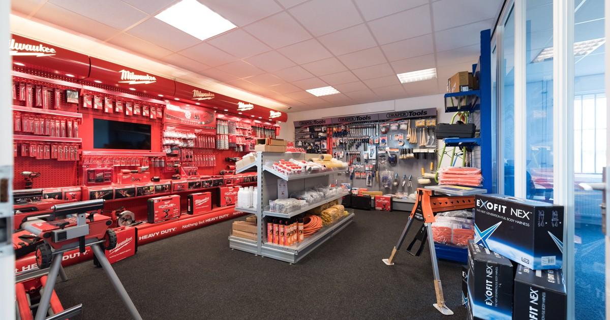De shop van Aabo Trading Roermond.