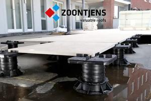 Zoontjens keramische tegels voor dakterrassen