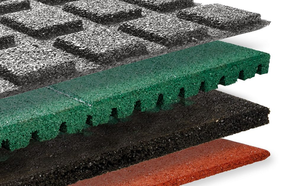 Granuflex® rubber tegels
