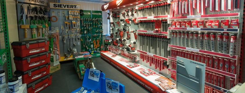 De shop van Aabo Trading Tilburg.