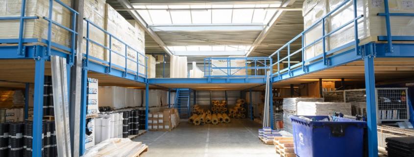 Aabo Trading Tilburg B.V. Magazijn