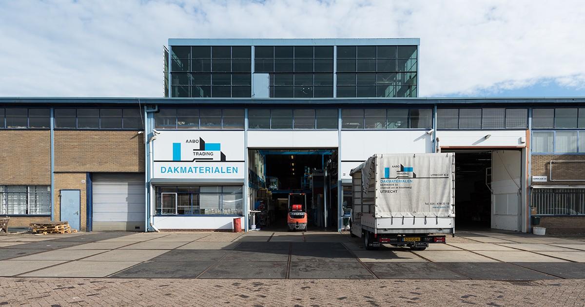 De vestiging van Aabo Trading Utrecht.