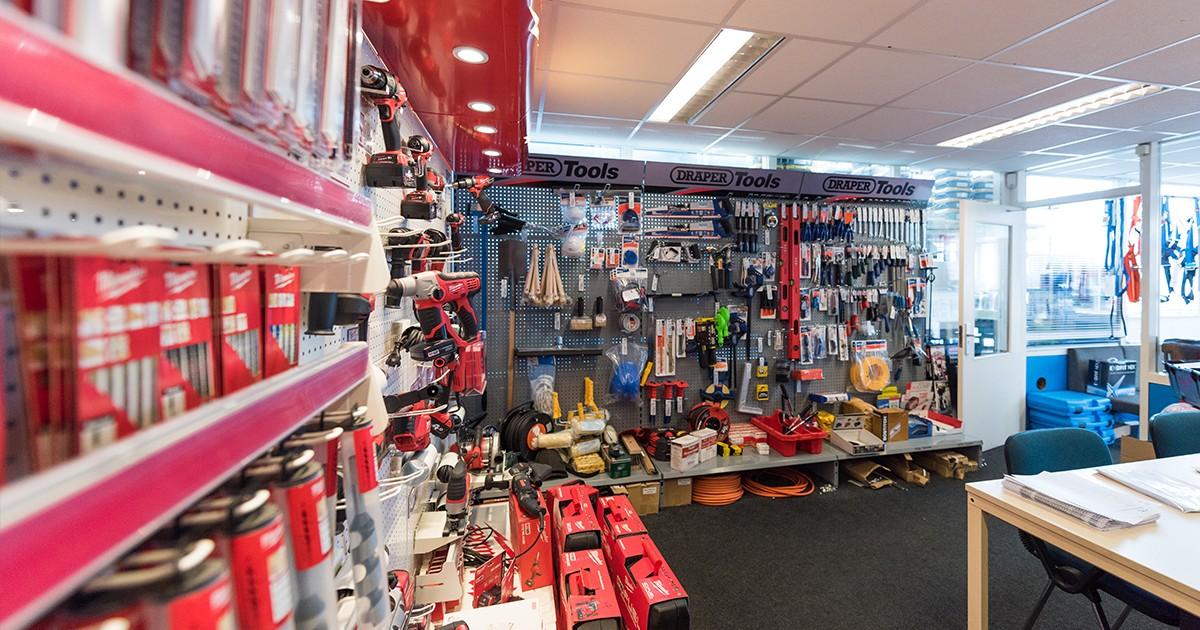 De shop van Aabo Trading Utrecht.