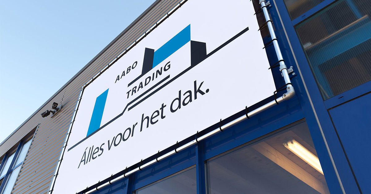 Voorgevel Aabo Trading Den Haag