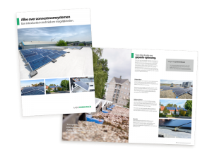 De brochure alles over zonnestroomsystemen