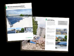 De brochure alles over zonnestroomsystemen