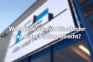 Filiaalleider Aabo Trading Utrecht