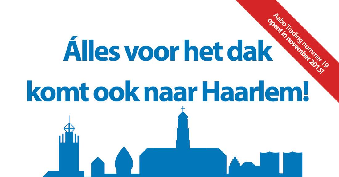 Aabo Trading Haarlem komt eraan!