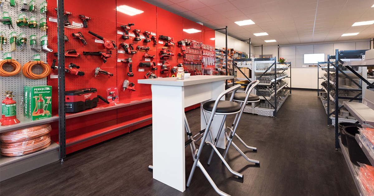 De shop van Aabo Trading Den Haag.