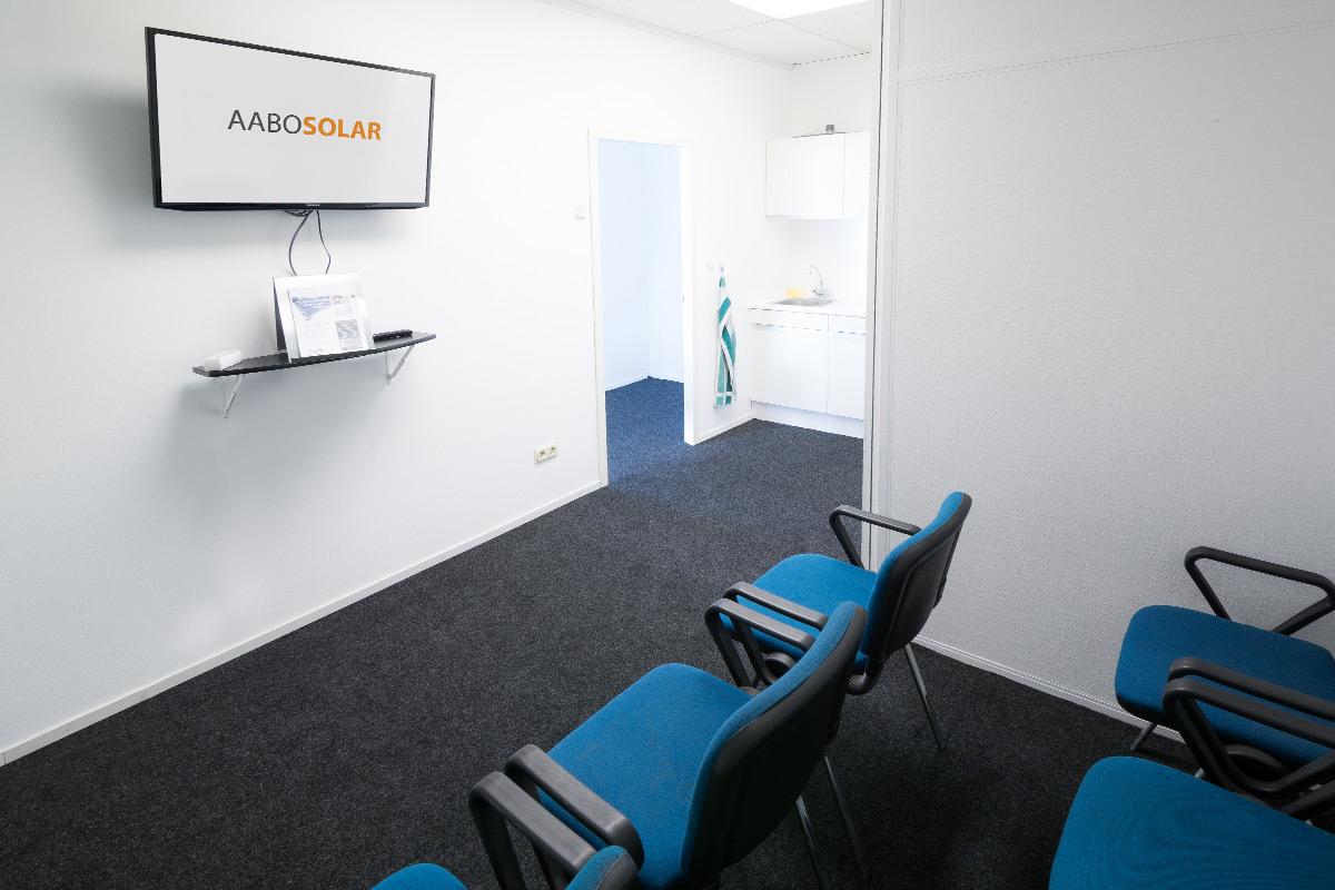 De showroom van Aabo Trading Zoetermeer