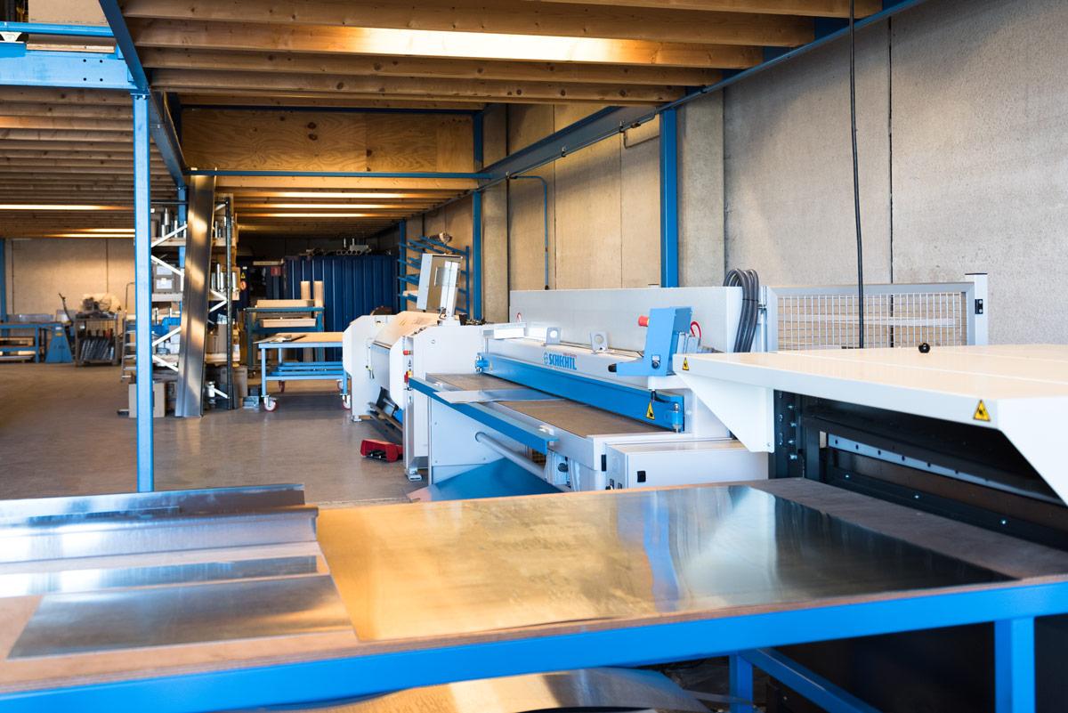 De zetterij van Aabo Trading Almere.