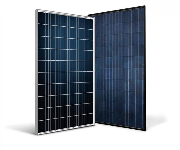 Voorbeelden van 2 soorten zonnepanelen